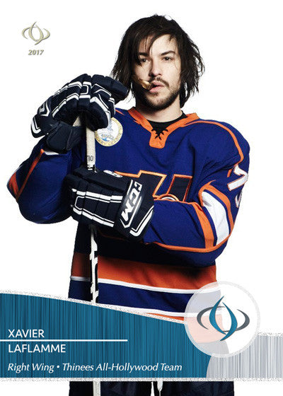 Xavier LaFlamme from the movie Goon (2011) on the the Thinees All-Hollywood Hockey team