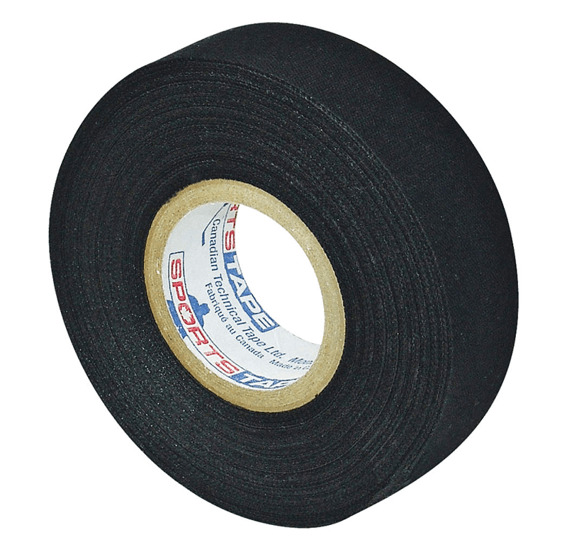 Black hockey tape from Sports Tape.