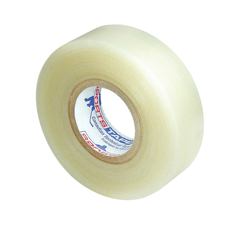 Clear shin pad tape from Sports Tape