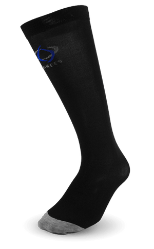 Thinees Ultra Thin Black Hockey Socks
