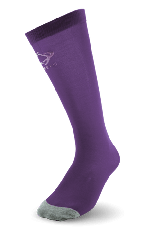 Thinees Ultra Thin Purple Skating Socks