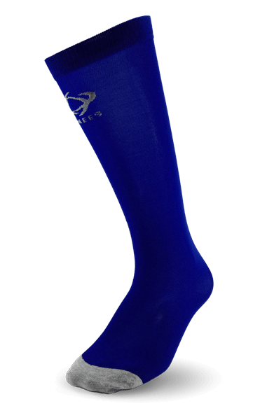 Thinees Royal Blue Skating Socks