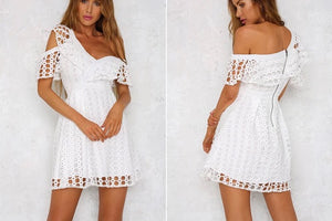 Goddess Ruffle Dress