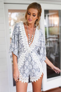 Snow Flake Playsuit