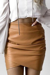 Burning hearts skirt (tan)