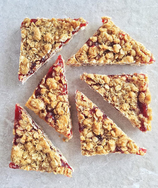 Raspberry Streusel Bar