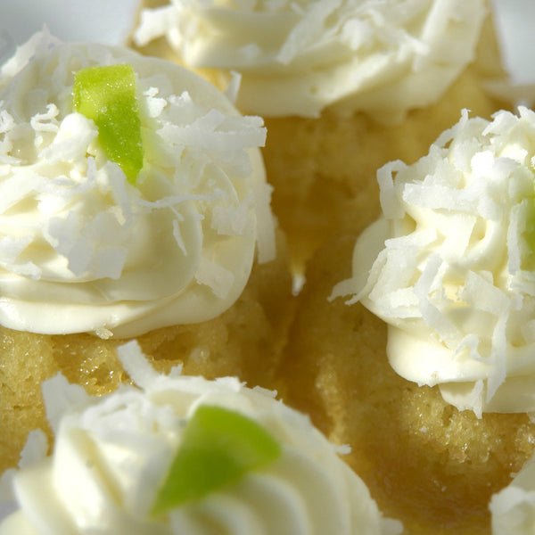 Coconut Key Lime Babycake