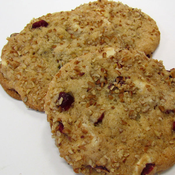White Chocolate Cranberry Pecan Cookie