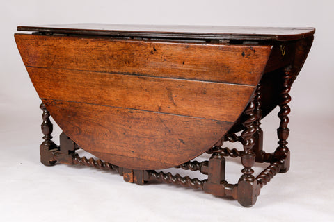 Charles II Gate Leg Table.