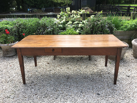 French Cherry Wood Table