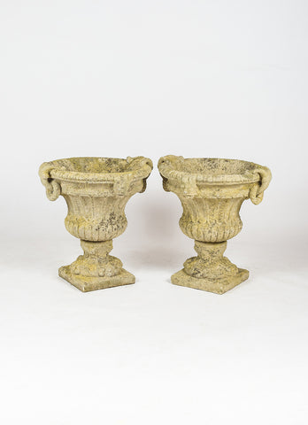French Ring handle Urns
