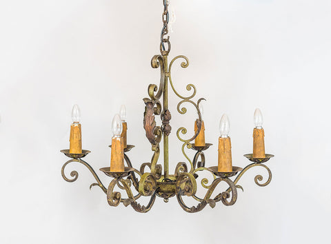Wrought Iron French Light