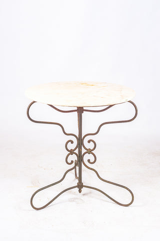 Portugese Wrought Iron Table
