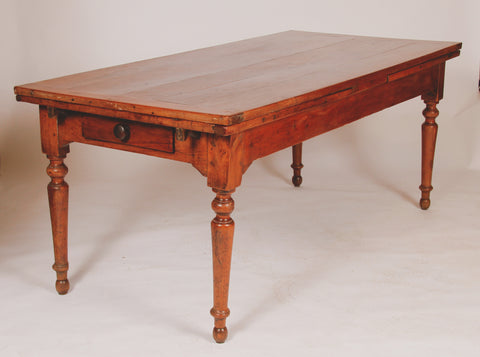 French Cherrywood Farm House Table