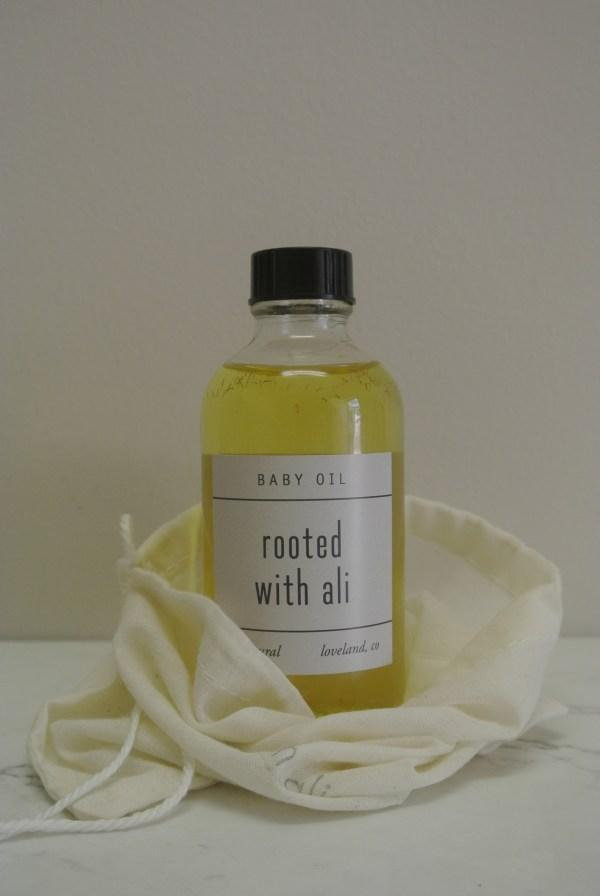 Rooted with Ali Baby Oil