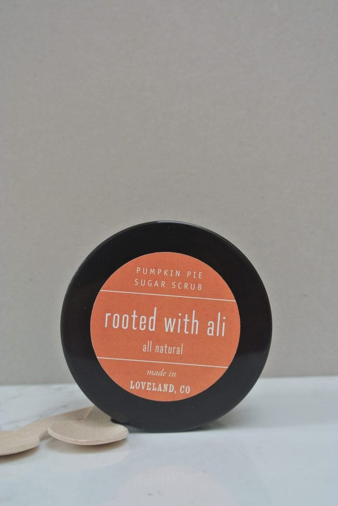 Rooted with Ali Sugar Scrub