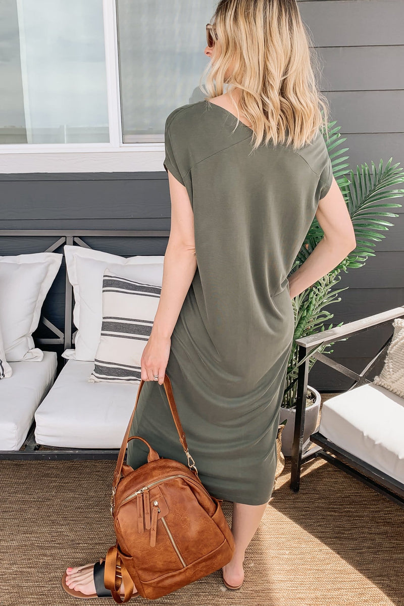 Mindful Midi Dress - 2 Colors!