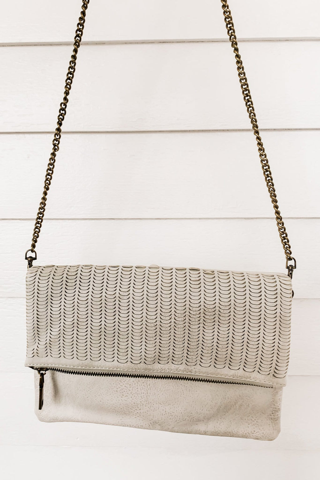 Alyssa Clutch - White