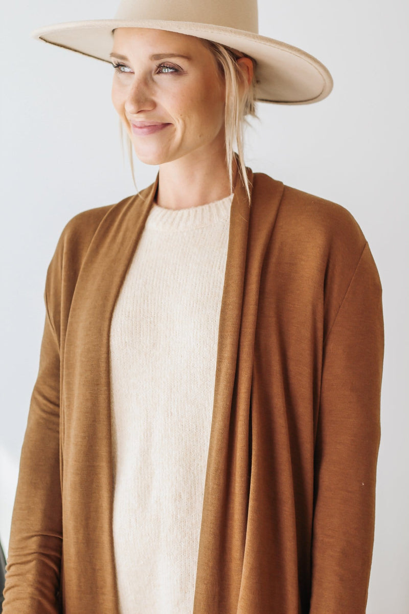Ivory Wrap Sweater