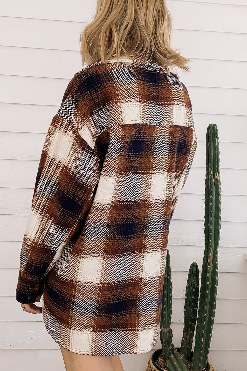 RESTOCK Woodlands Flannel Shacket
