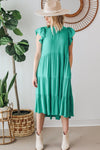 Strut Your Stuff Button Front Skirt