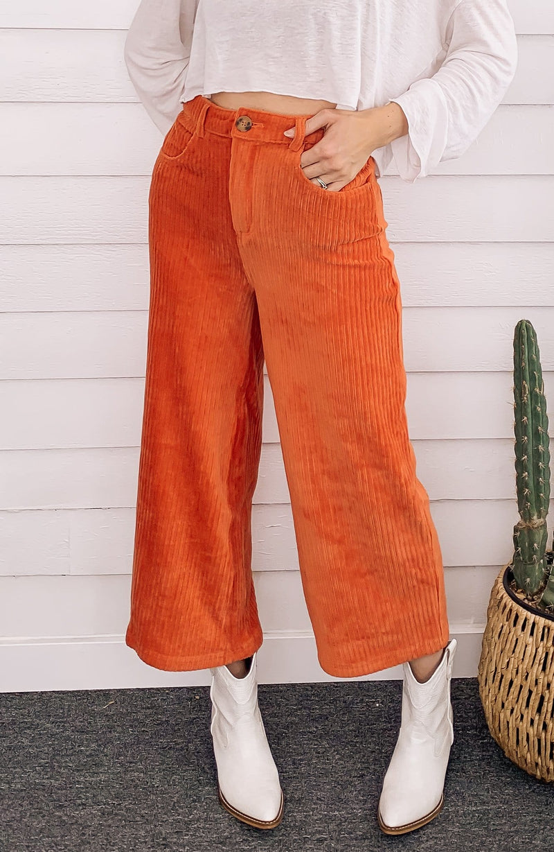High Waters Corduroy Pant