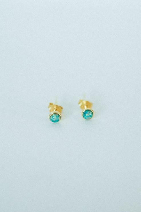 Leah Opal Earrings