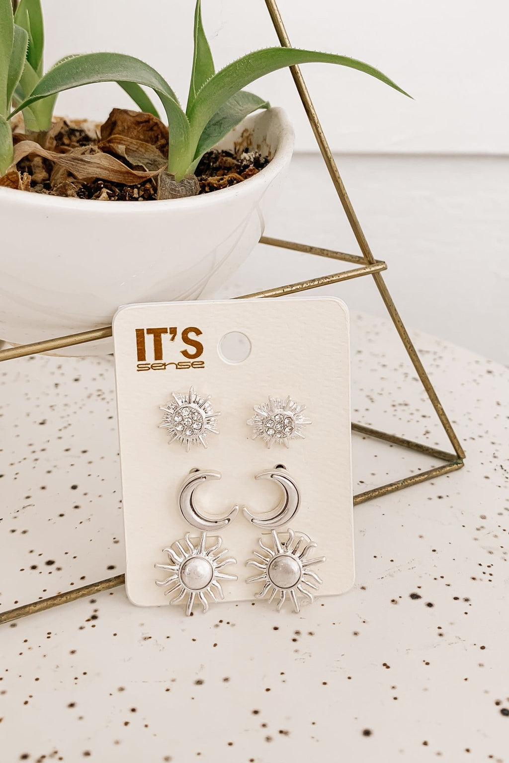 Mini Sun Stud Set