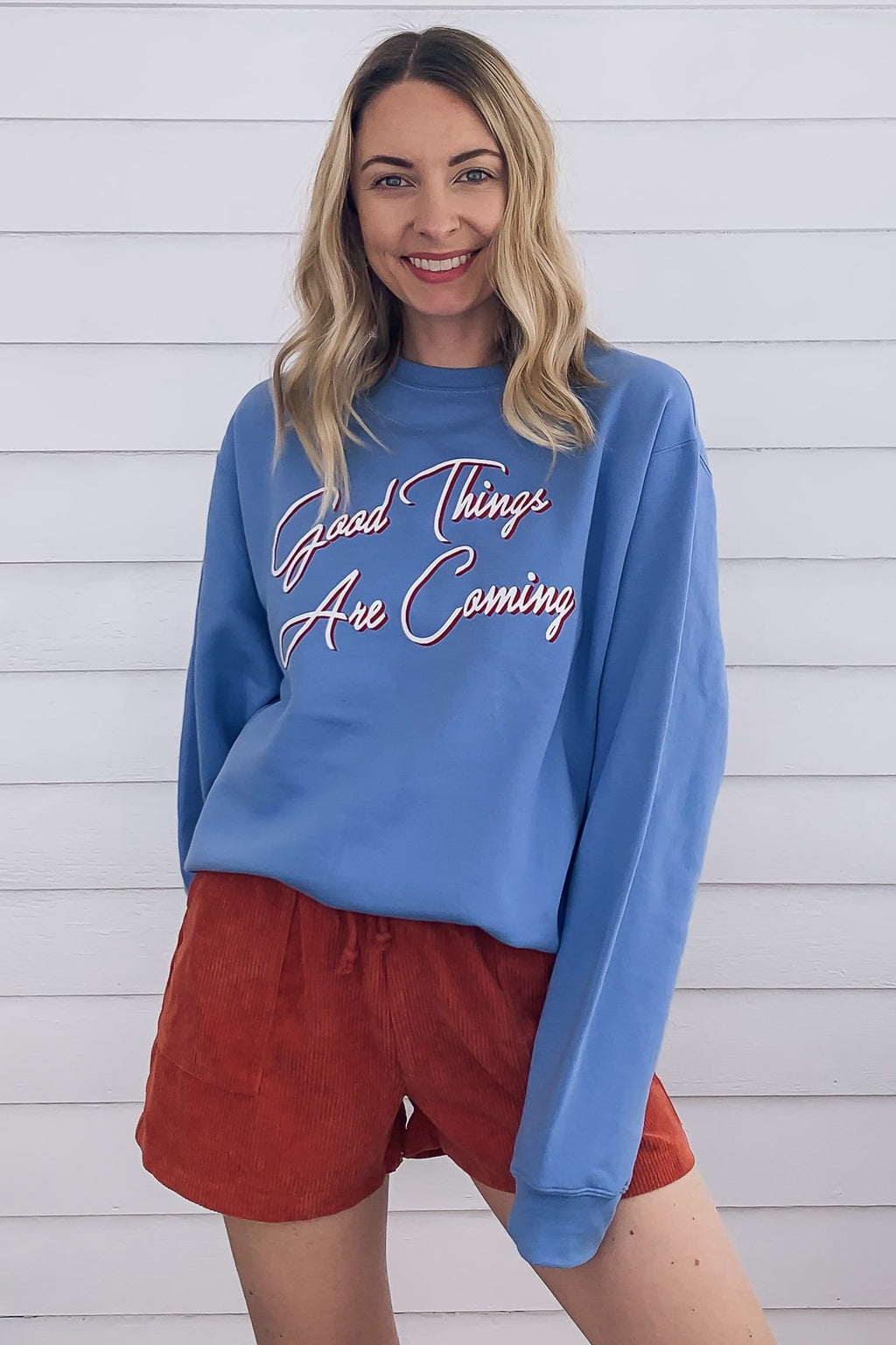 Good Things Sweatshirt - Blue