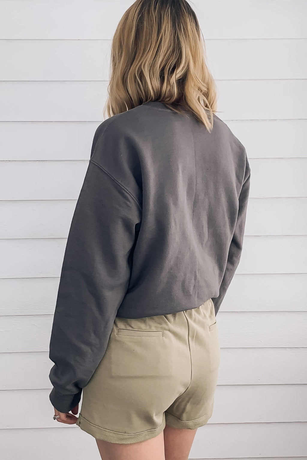 Homebody Sweatshirt - Charcoal