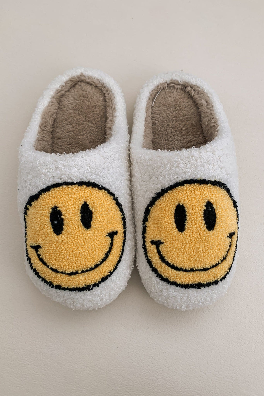 Happy Times Smiley Slippers