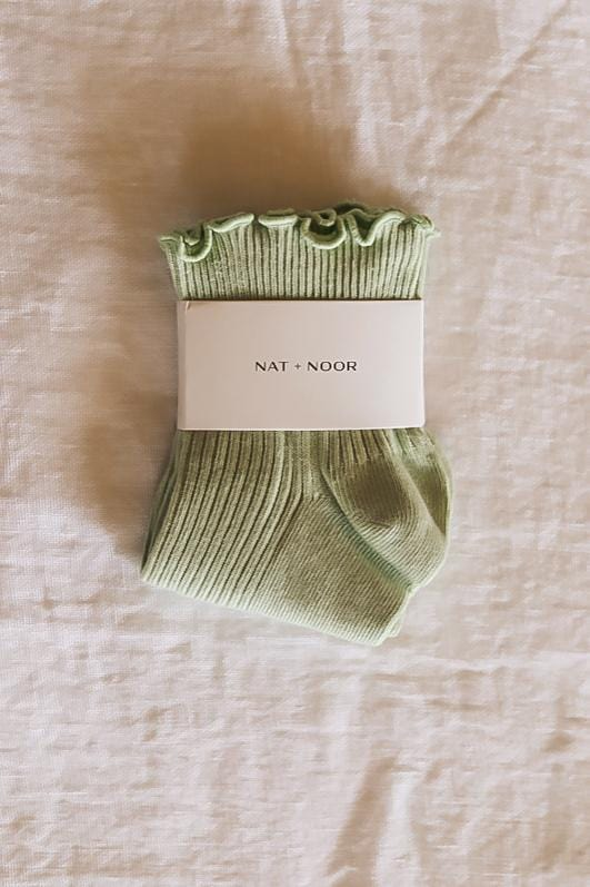 Nat + Noor Ruffle Socks