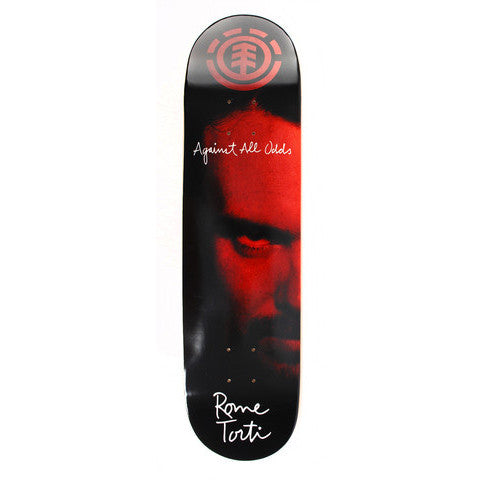 Rome Torti Against All Odds - Skatedeck (left side)