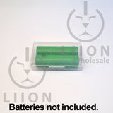 18650 liionwholesale branded case - top with batteries