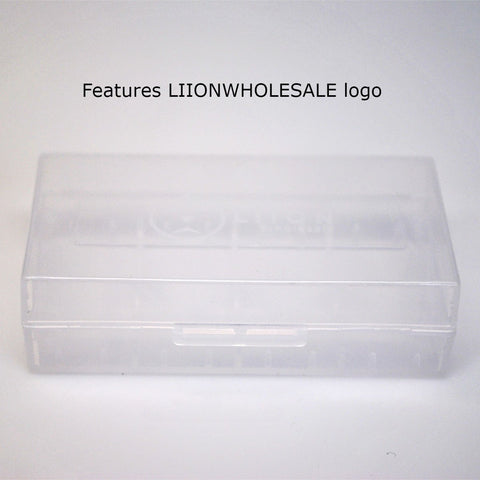 LiionWholesale Battery Case for two 18650 or four 18350 batteries