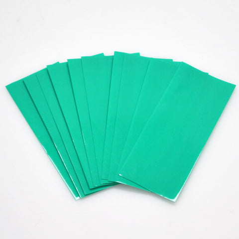 18650 PVC Heat Shrink Wraps - 10 pack - Grass Green