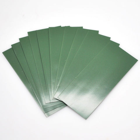 18650 PVC Heat Shrink Wraps - 10 pack - Navy Green