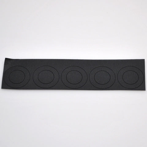 20700 battery insulators - black
