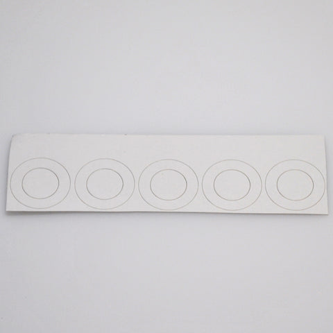 20700 battery insulators - white
