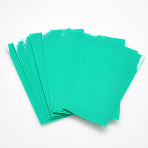 20700 PVC Heat Shrink Wraps - 10 pack - Dark Green