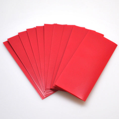 20700 PVC Heat Shrink Wraps - 10 pack - Red