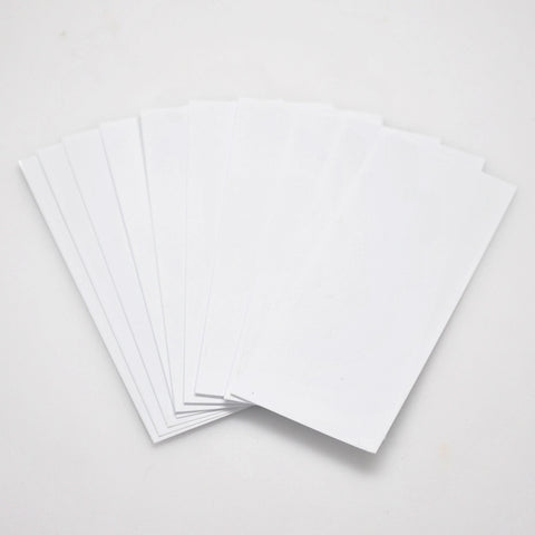 20700 PVC Heat Shrink Wraps - 10 pack - White