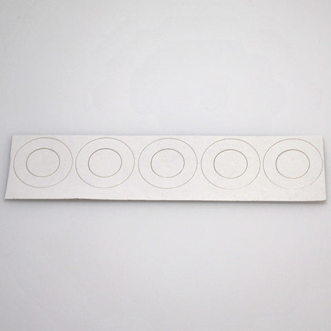 21700 battery insulators - white