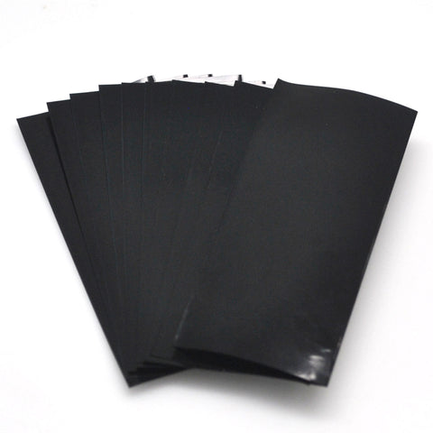 21700 PVC Heat Shrink Wraps - Black