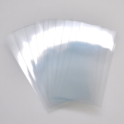 21700 PVC Heat Shrink Wraps - 10 pack - Clear