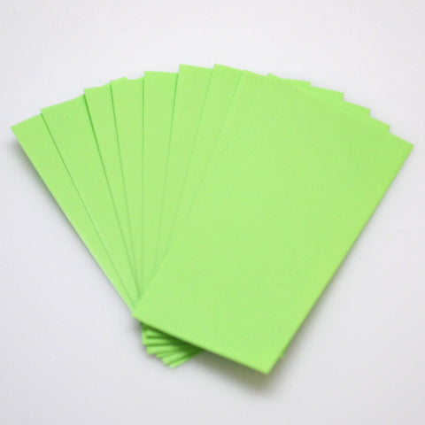 21700 PVC Heat Shrink Wraps - 10 pack - Neon Green