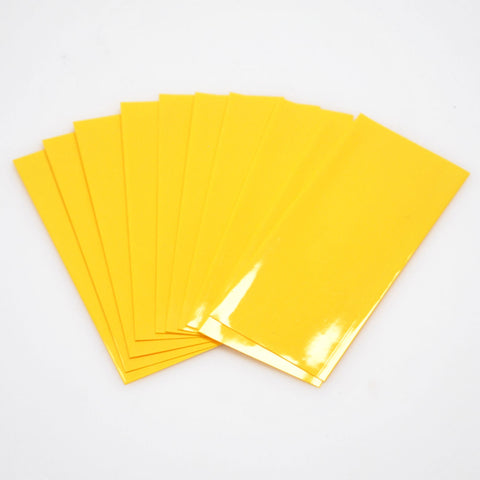 21700 PVC Heat Shrink Wraps - 10 pack - Yellow