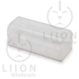 26650 battery case - clear