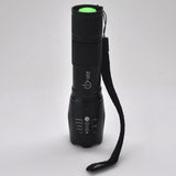 XML-T6 Flashlight (18650 protected, 20700 and 21700 Batteries)