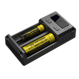 Nitecore New I2 2 Bay Li-ion Battery Charger